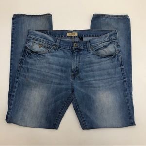 Guess Lincoln Slim Straight Jeans Size 36X32